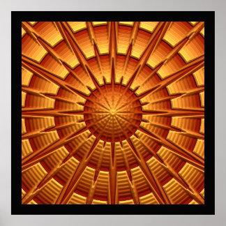 3D poster da arte abstracta 2A
