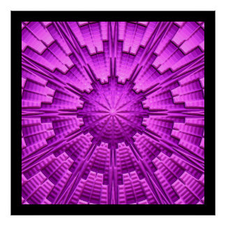 3D poster da arte abstracta 3