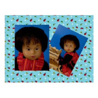 40225 Sasha bebé Like cartão postal