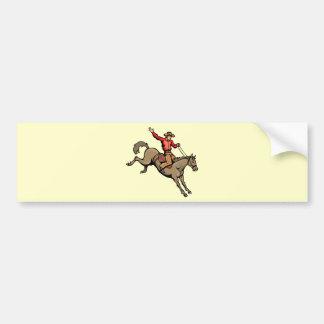 4162007-133 horseback-ridin dos cavalos dos vaquei adesivo