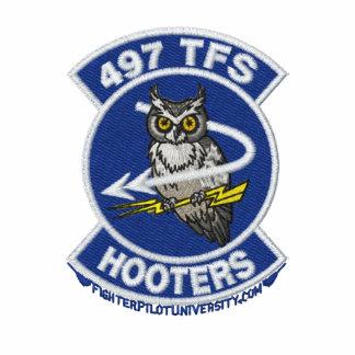 497th Polo W/F-4 de TFS e sinal de chamada (branco