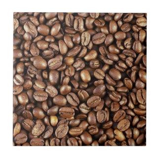 """4,25"""" FEIJÕES de CAFÉ do azulejo de x 4,25"""
