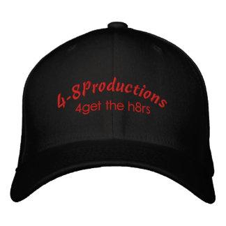 4-8 chapéu bordado de lãs de Flexfit Bone