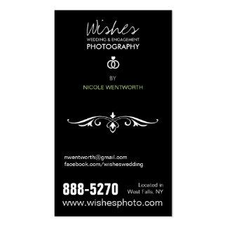4 cartões de visitas da fotografia da foto