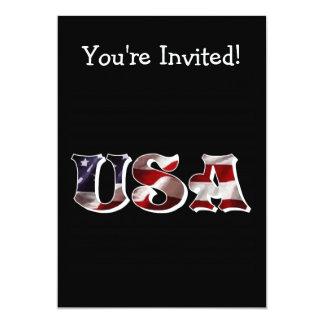 4 de julho convite personalizado