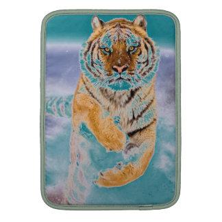 4k-image-tiger-jumping bolsas para MacBook air