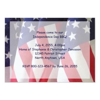 4ns do convite do assado de julho, bandeiras