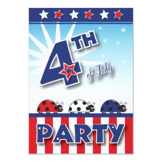 4o do convite de festas de julho