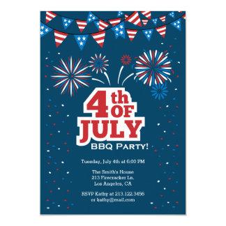 4o do convite de festas do CHURRASCO da celebração