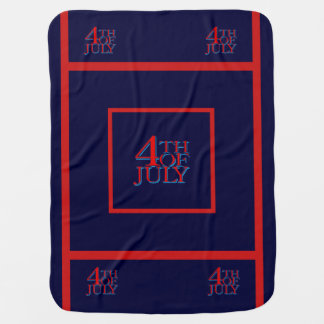 4o julho - cobertores para bebe