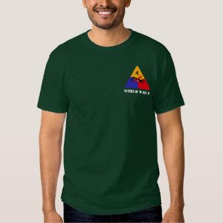 4o T da divisão blindada Camiseta