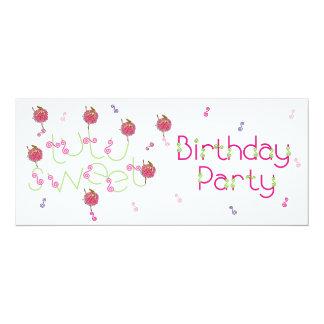 4x9 convida a festa de aniversário da bailarina do convite
