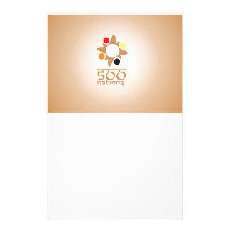 500 nações papelaria