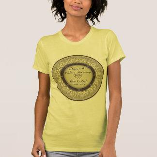 50th Aniversário de casamento T-shirts