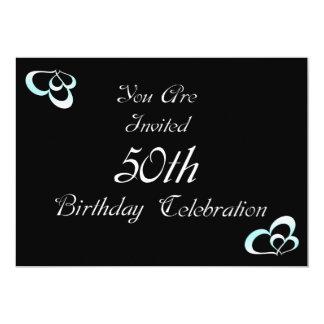 50th Convite de aniversário