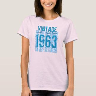 50th Vintage 1963 do presente de aniversário o Camiseta