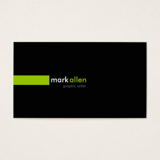 519 modernos feitos sob encomenda cartão de visitas