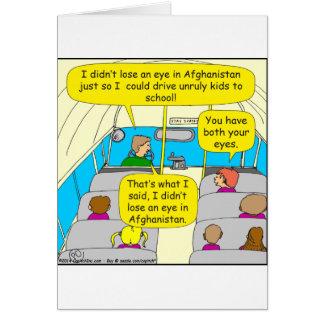 567 condutor de autocarro zazzle.png cartão