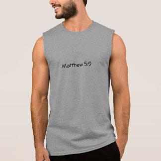 5:9 de Matthew Camisetas Sem Manga