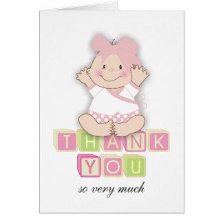 """5"""" """" cartões de agradecimentos de harmonização do"""