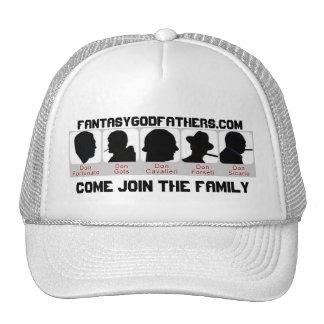 5 dons, FantasyGodfathers.com, vêm juntam-se ao Fa Boné