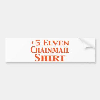 +5 presentes da camisa de Elven Chainmail Adesivo Para Carro