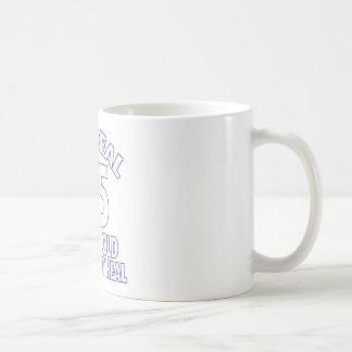 65th design do aniversário caneca de café