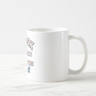 65th design do aniversário do ano caneca de café