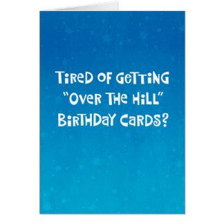 66th cartão engraçado do aniversário