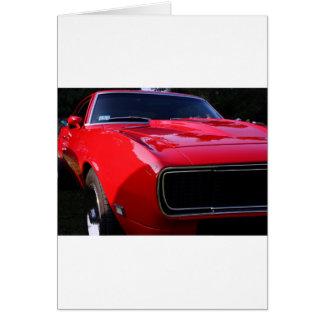 69 Camaro Cartão Comemorativo