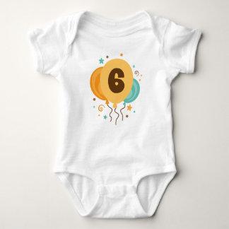 6o Ideia do presente da festa de aniversário T-shirt