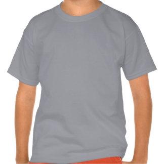 6o Menino Camo do aniversário seis nomes feitos Camisetas