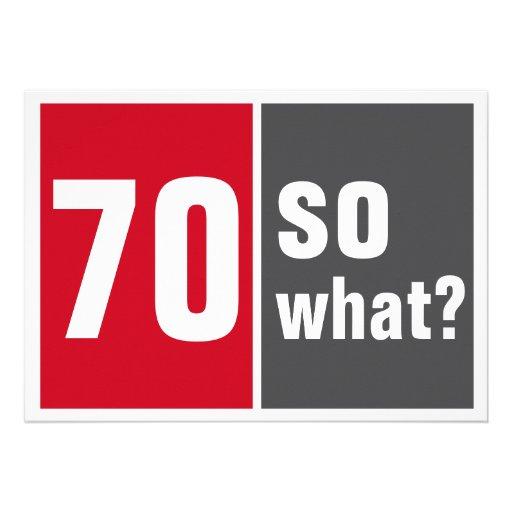 70 birthday invitation convites personalizado