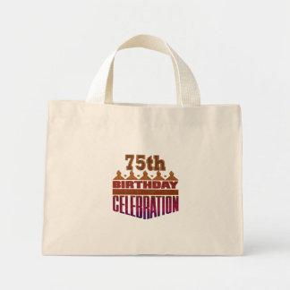75th Presentes da celebração do aniversário Bolsa