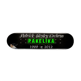 "7 1/4"" plataforma do skate do tributo de Pakelika"