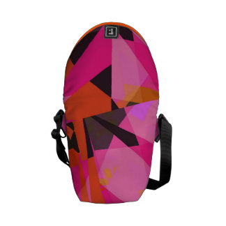 #7 cor-de-rosa - Saco Bolsa Mensageiro