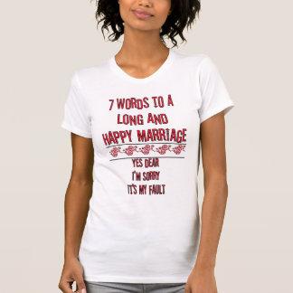 7 palavras a um casamento longo e feliz -