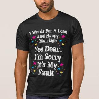 7 palavras para um casamento longo e feliz - perso t-shirts