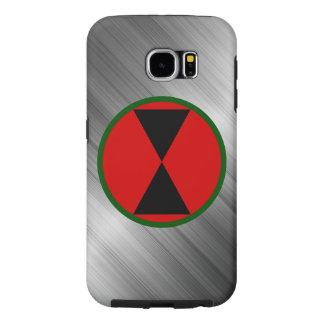 """7o Divisão de infantaria da """"divisão ampulheta """" Capas Samsung Galaxy S6"""