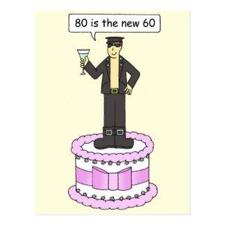 80 60 cumprimentos masculinos alegres novos do cartões postais