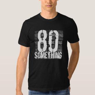 80 algo estilo do Grunge - preto e branco Camiseta