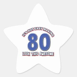 80 anos nao fáceis do design adesito estrela