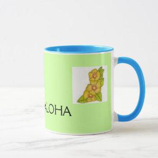 84430, ist2_5831458-hula-grunge, ALOHA Caneca