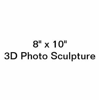 "8"" personalizado x 10"" escultura da foto escultura fotos"