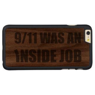 911 era um trabalho interno capa para iPhone 6 plus de nogueira, carved®