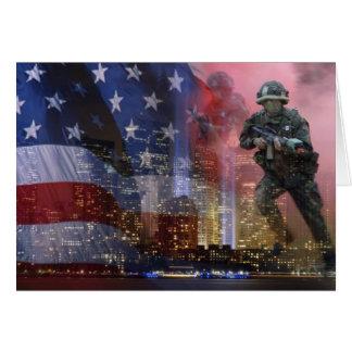 911 torres gémeas cartão