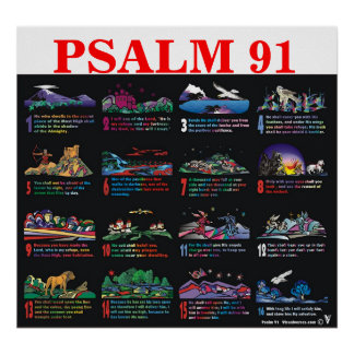 91:1 do salmo - 16 posteres