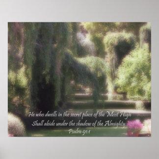 91:1 do salmo poster