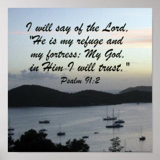 91:2 do salmo poster
