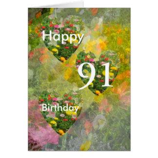 91st Aniversário Cartão